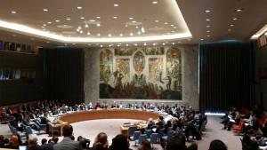 Kuunteluoppilaana turvallisuusneuvoston istunnossa 21.10.2014