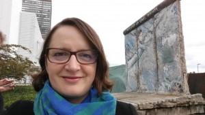 Palanen Berliinin muuria YK-alueen rauhan puistossa, New York